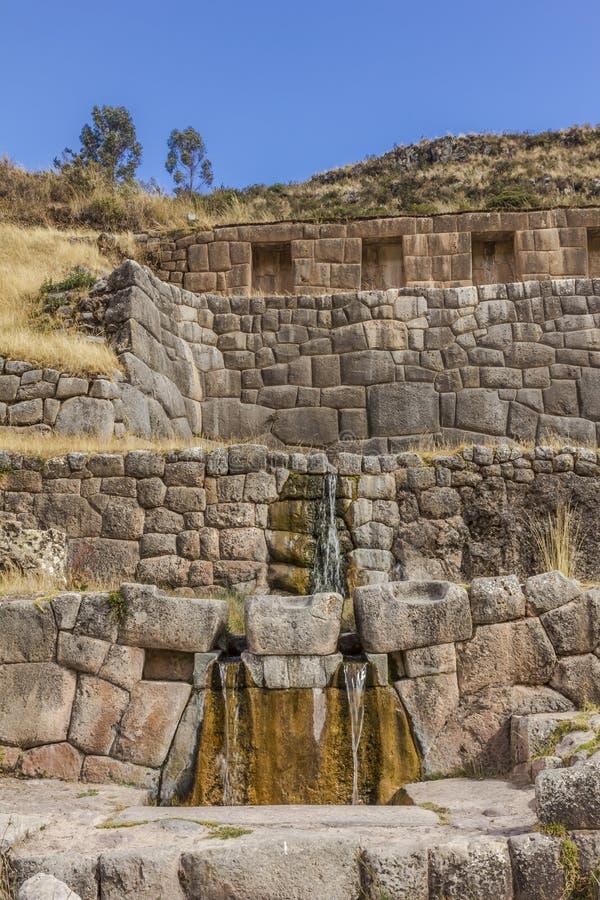 Καταστροφές Cuzco Περού Tambomachay στοκ φωτογραφίες με δικαίωμα ελεύθερης χρήσης