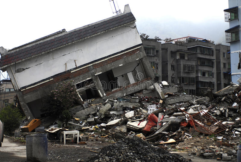 Καταστροφή σεισμού