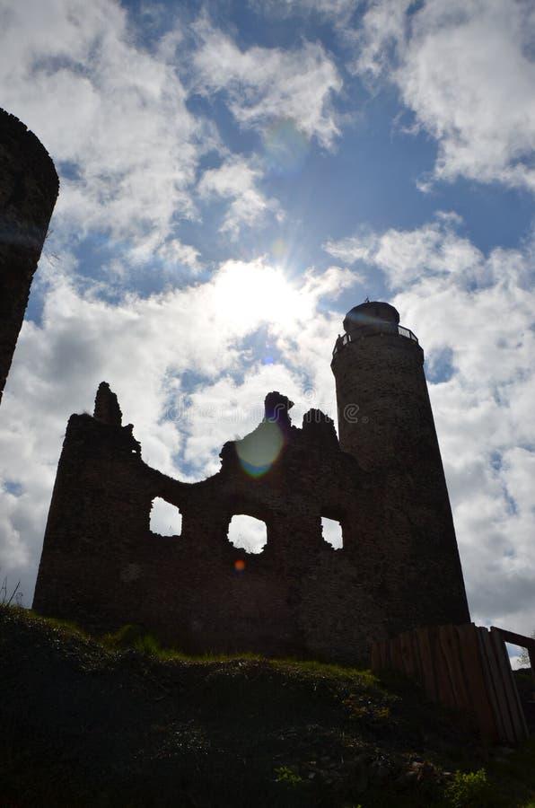 Καταστροφή του Castle - ovkou MileÅ ¡ λοβών Kostomlaty στοκ φωτογραφία με δικαίωμα ελεύθερης χρήσης