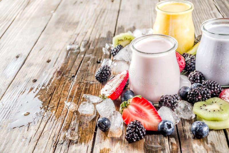Καταφερτζής θερινών φρούτων και μούρων στοκ φωτογραφία με δικαίωμα ελεύθερης χρήσης