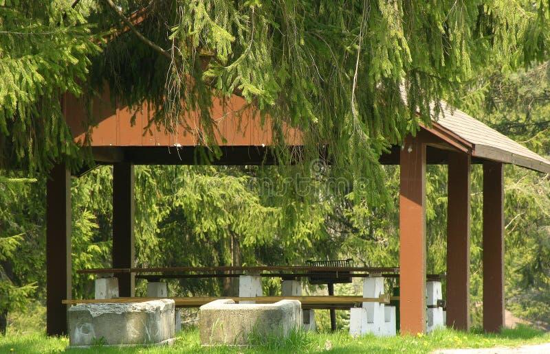 Download καταφύγιο πάρκων στοκ εικόνα. εικόνα από πάρκα, πάρκο, picnic - 119205