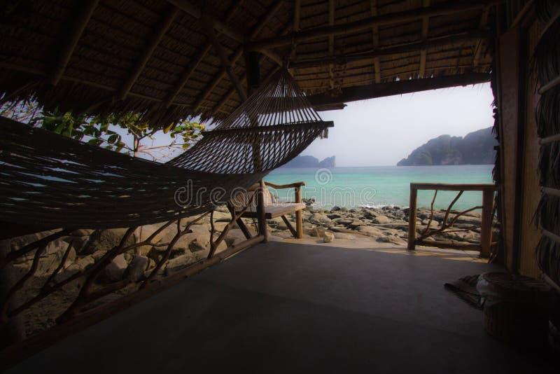 Καταφύγιο παραλίας στοκ φωτογραφίες