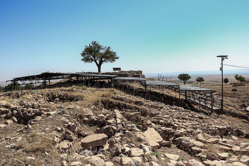 Καταφύγιο Tepe Gobekli στοκ φωτογραφία