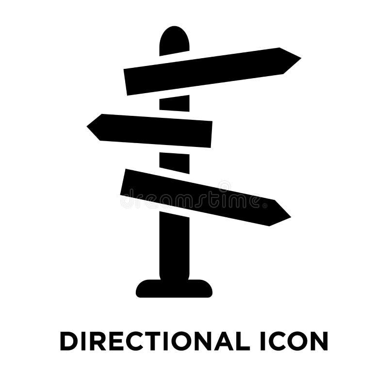 Κατευθυντικό διάνυσμα εικονιδίων σημαδιών που απομονώνεται στο άσπρο υπόβαθρο, λογότυπο απεικόνιση αποθεμάτων