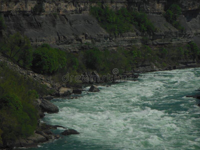 Κατηγορία 6 ποταμών Niagara ορμητικά σημεία ποταμού στοκ φωτογραφίες με δικαίωμα ελεύθερης χρήσης