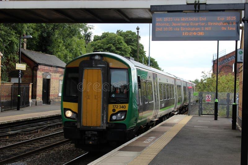 Κατηγορία 172 turbostar τραίνο dmu σε Kidderminster στοκ εικόνες με δικαίωμα ελεύθερης χρήσης