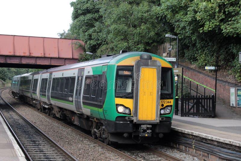 Κατηγορία 172 turbostar τραίνο dmu σε Kidderminster στοκ εικόνες