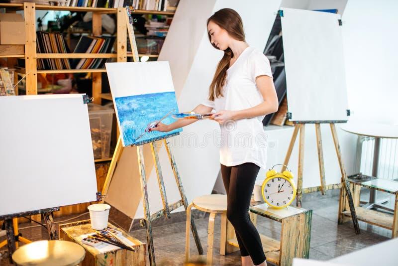 Κατηγορίες θεραπείας τέχνης στο εργαστήριο στοκ φωτογραφίες με δικαίωμα ελεύθερης χρήσης
