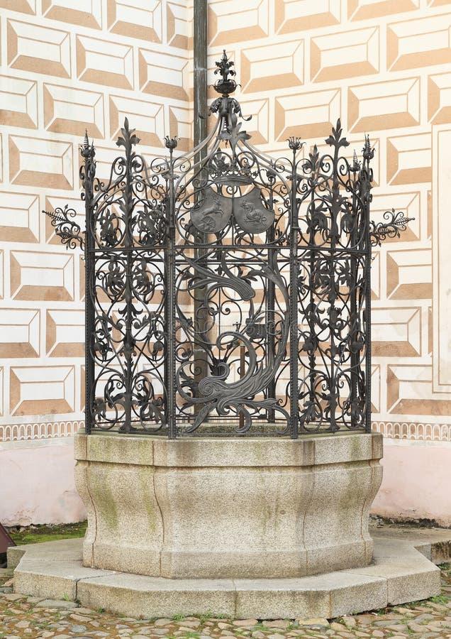 Κατοικήστε παλάτι Breznice στοκ εικόνες