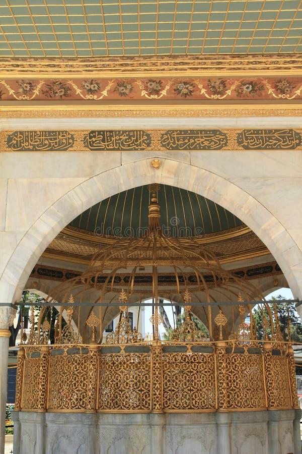 Κατοικήστε σε Hagia Sofia στη Ιστανμπούλ στοκ φωτογραφίες με δικαίωμα ελεύθερης χρήσης