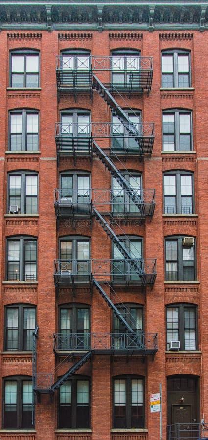 Κατοικία στο Μανχάταν, Νέα Υόρκη στοκ εικόνες με δικαίωμα ελεύθερης χρήσης