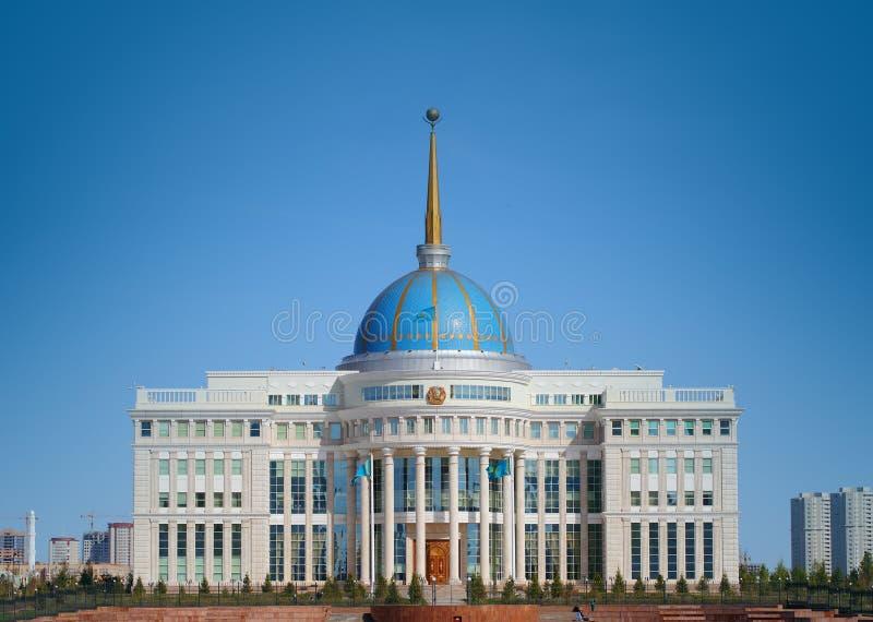 Κατοικία του Προέδρου του Καζάκου στοκ εικόνες