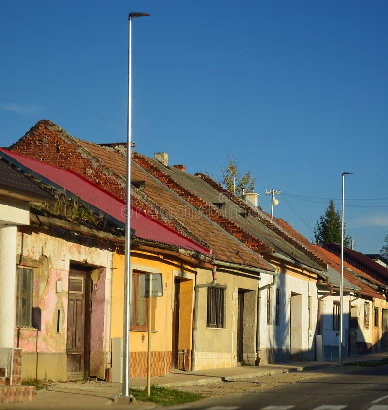Κατοικία Delapidated στη Σλοβακία στοκ φωτογραφία