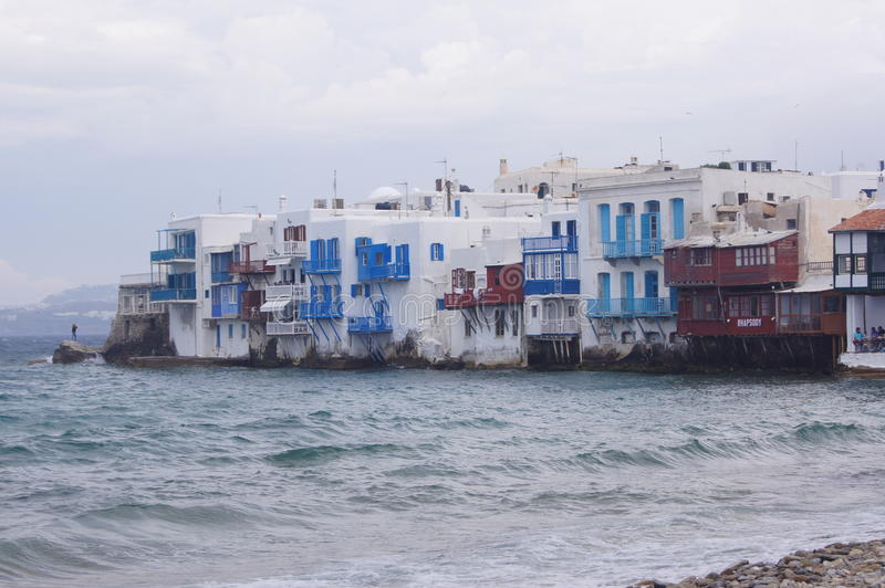 Κατοικίες παραλιών στοκ εικόνες