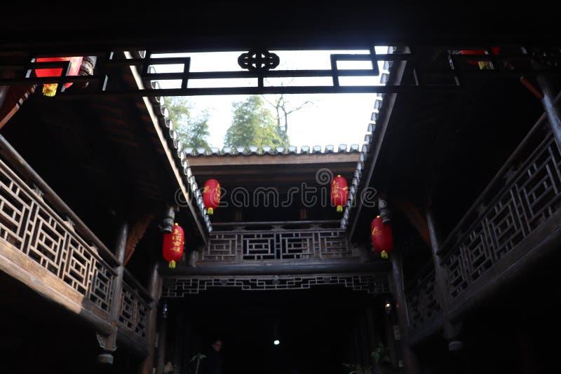 Κατοικίες προαυλίων της Κίνας στοκ φωτογραφία με δικαίωμα ελεύθερης χρήσης