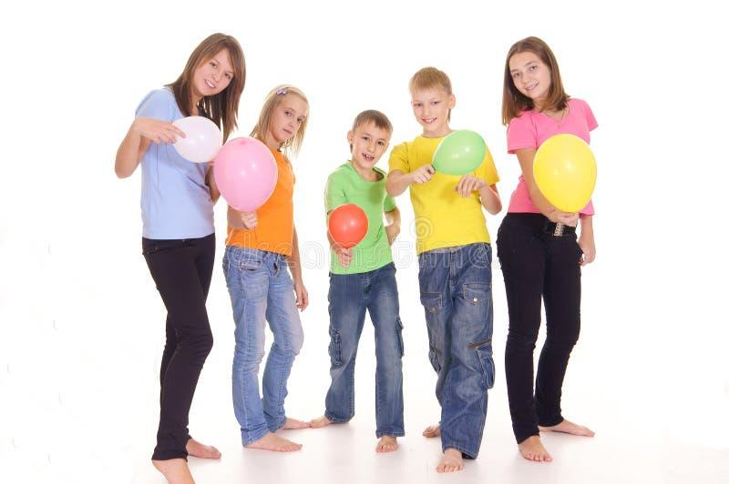 κατσίκια μπαλονιών στοκ εικόνα