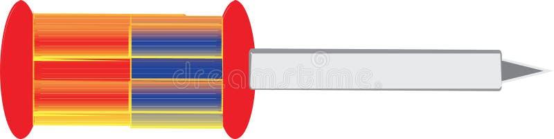 Κατσαβίδι για την εργασία απεικόνισης απεικόνιση αποθεμάτων