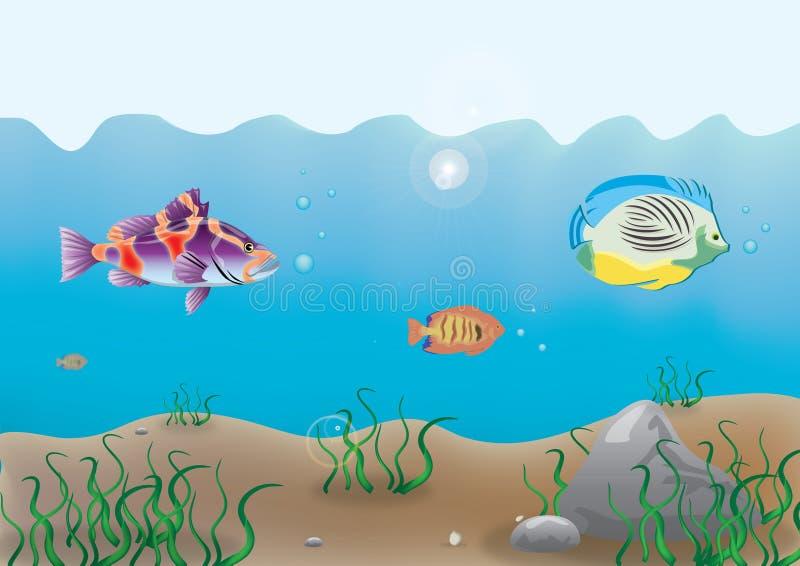 κατώτατος ωκεανός απεικόνιση αποθεμάτων