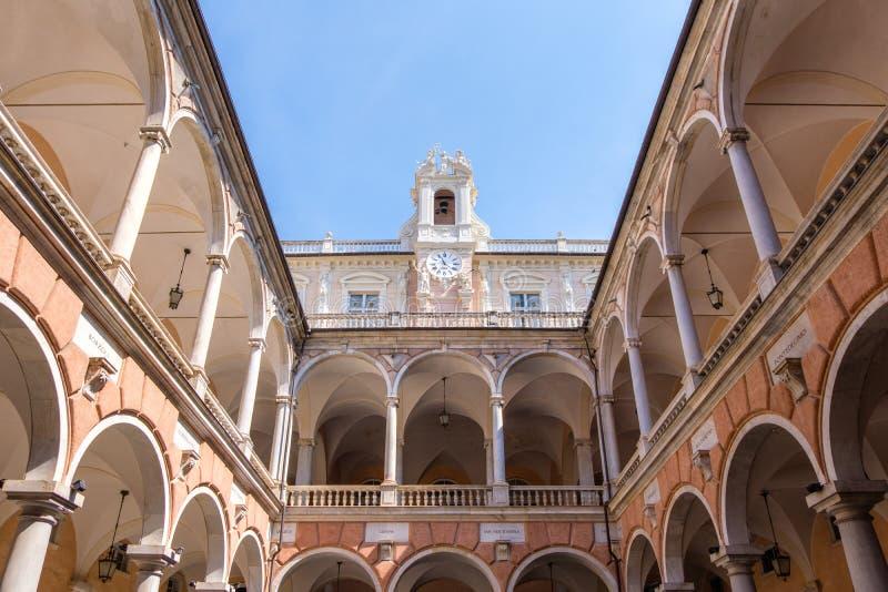 Κατώφλι παλατιών Tursi Doria στοκ φωτογραφία