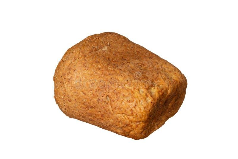 Κατ' οίκον γίνοντη φραντζόλα ψωμιού που απομονώνεται στοκ φωτογραφία με δικαίωμα ελεύθερης χρήσης