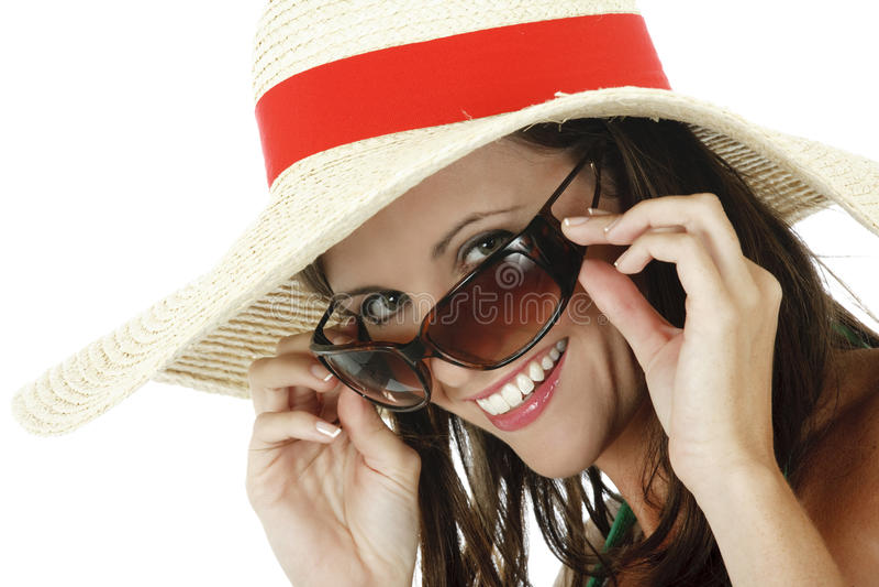 καυκάσια γυναίκα στοκ εικόνα με δικαίωμα ελεύθερης χρήσης