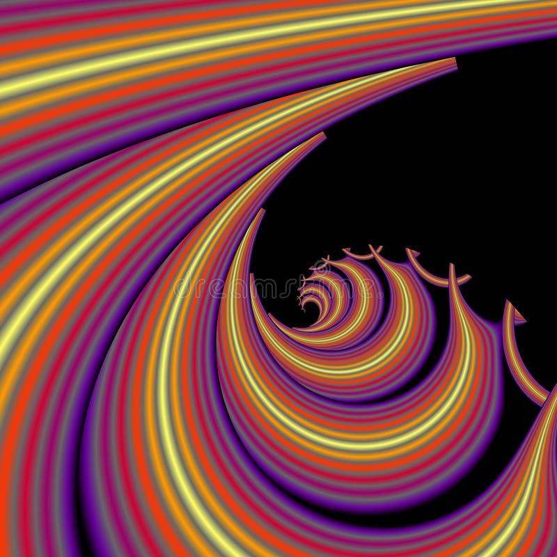 καυτά κύματα ελεύθερη απεικόνιση δικαιώματος