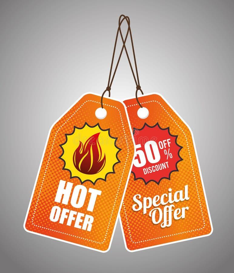 Download Καυτές προσφορές και εκπτώσεις αγορών Απεικόνιση αποθεμάτων - εικονογραφία από υπηρεσία, απεικόνιση: 62703757
