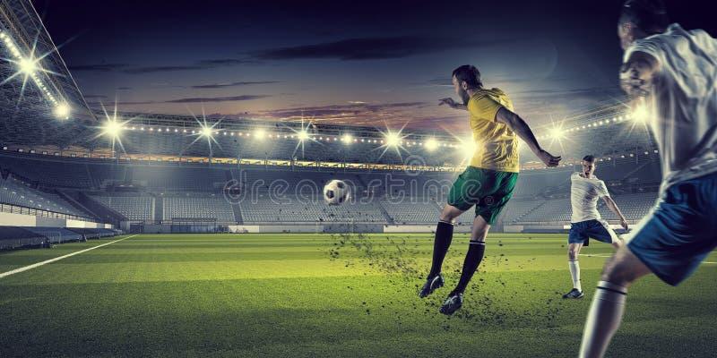 Καυτές στιγμές ποδοσφαίρου στοκ φωτογραφίες με δικαίωμα ελεύθερης χρήσης