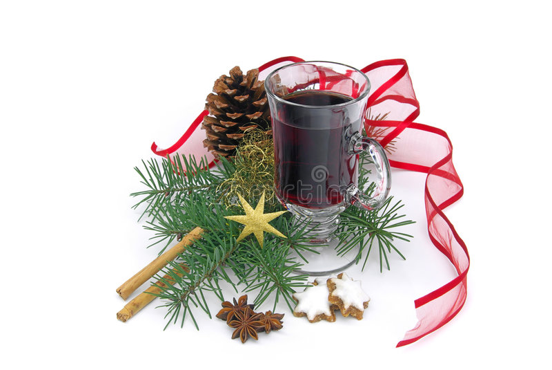 Καυτή διάτρηση κρασιού στοκ εικόνες με δικαίωμα ελεύθερης χρήσης