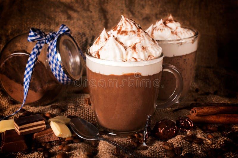 Καυτή σοκολάτα στοκ εικόνες