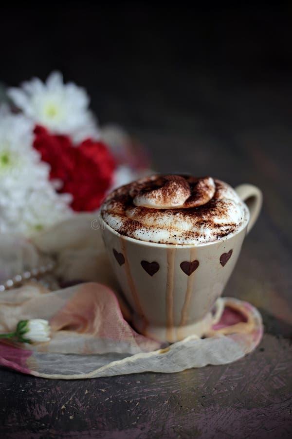 Καυτή σοκολάτα στοκ εικόνα