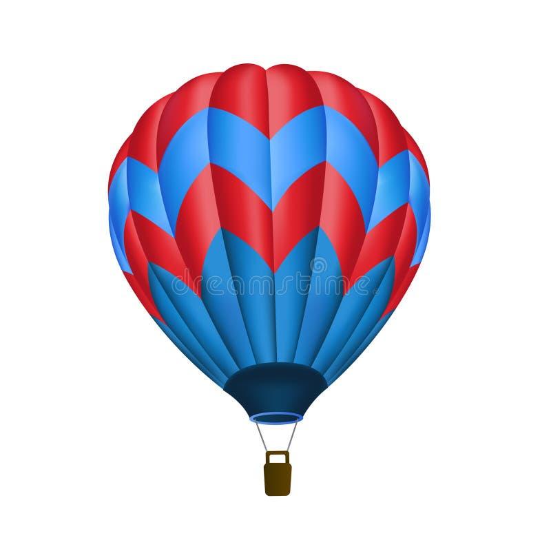 καυτός μπαλονιών αέρα που  ελεύθερη απεικόνιση δικαιώματος