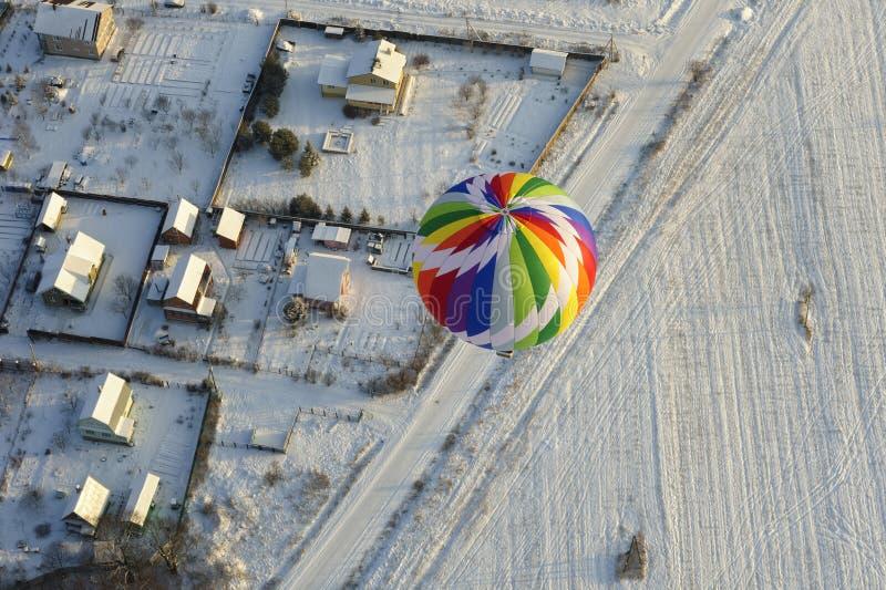 καυτός ουρανός μπαλονιών στοκ φωτογραφίες