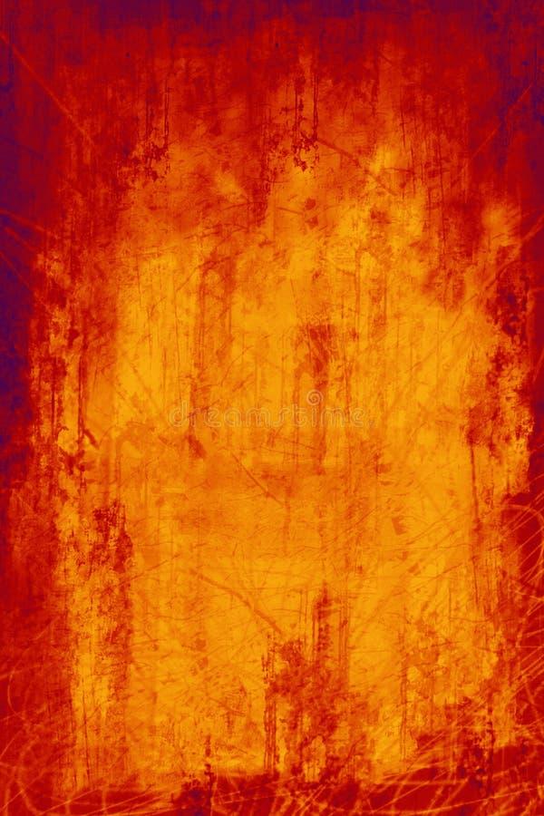 καυτός scratchy διανυσματική απεικόνιση