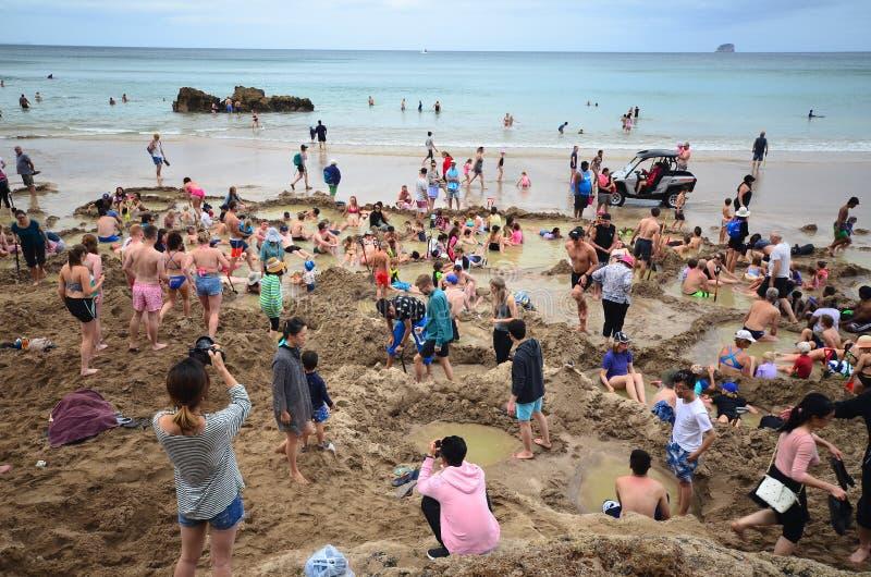 Καυτό ελατήριο στην παραλία στοκ εικόνες με δικαίωμα ελεύθερης χρήσης