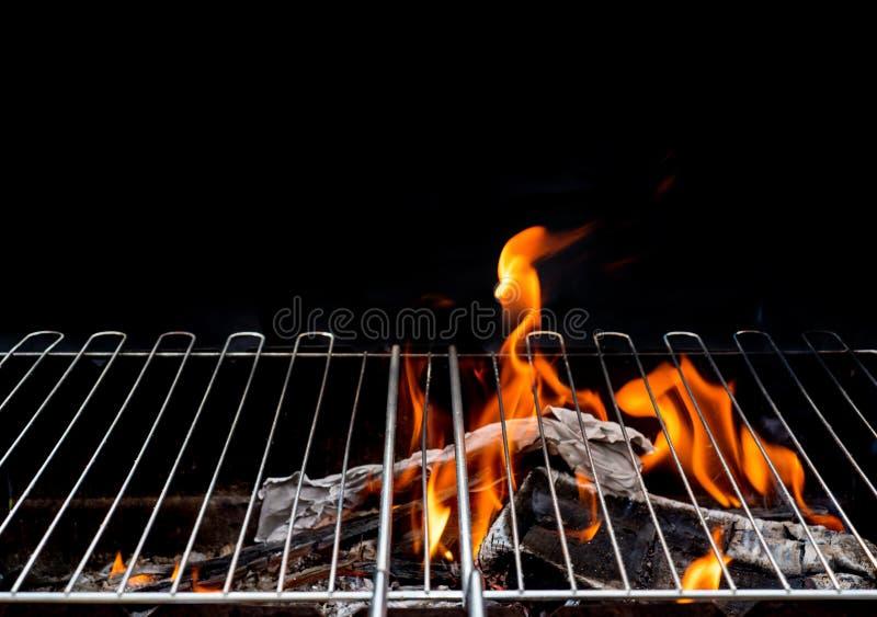 Καυτό κενό BBQ ξυλάνθρακα στοκ φωτογραφίες με δικαίωμα ελεύθερης χρήσης