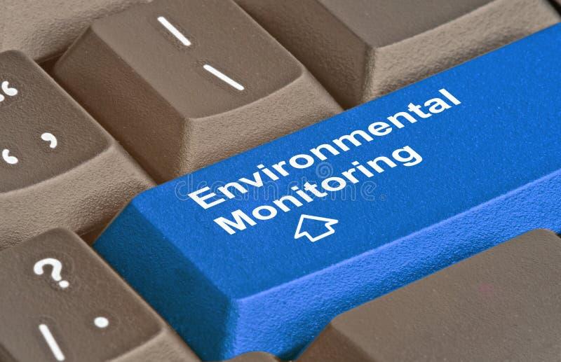 Καυτό κλειδί για τον περιβαλλοντικό έλεγχο στοκ εικόνα