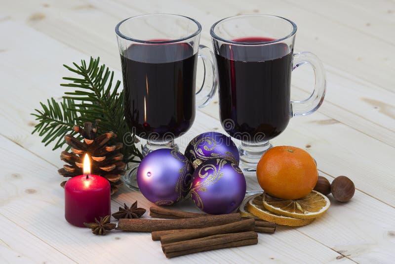 καυτό κρασί διακοσμήσεω& στοκ φωτογραφία με δικαίωμα ελεύθερης χρήσης