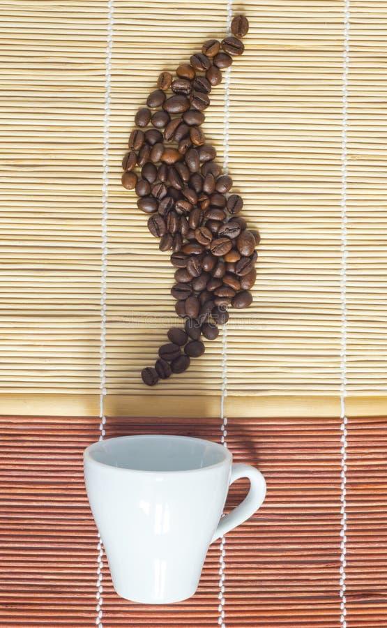 καυτό πρωί καφέ στοκ εικόνα με δικαίωμα ελεύθερης χρήσης