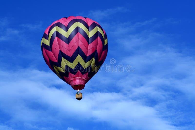 καυτό ροζ μπαλονιών αέρα στοκ φωτογραφίες