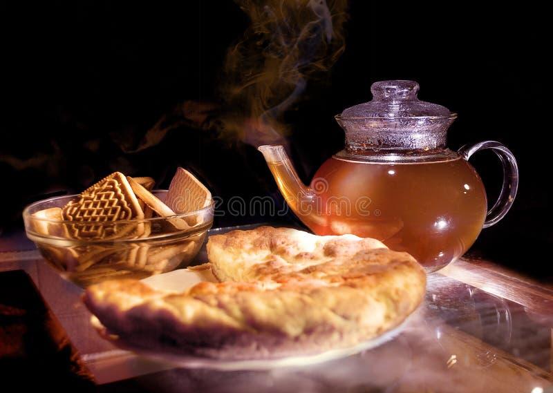 Download καυτό τσάι στοκ εικόνα. εικόνα από ζωή, μαγείρεμα, αρτοποιών - 13180621