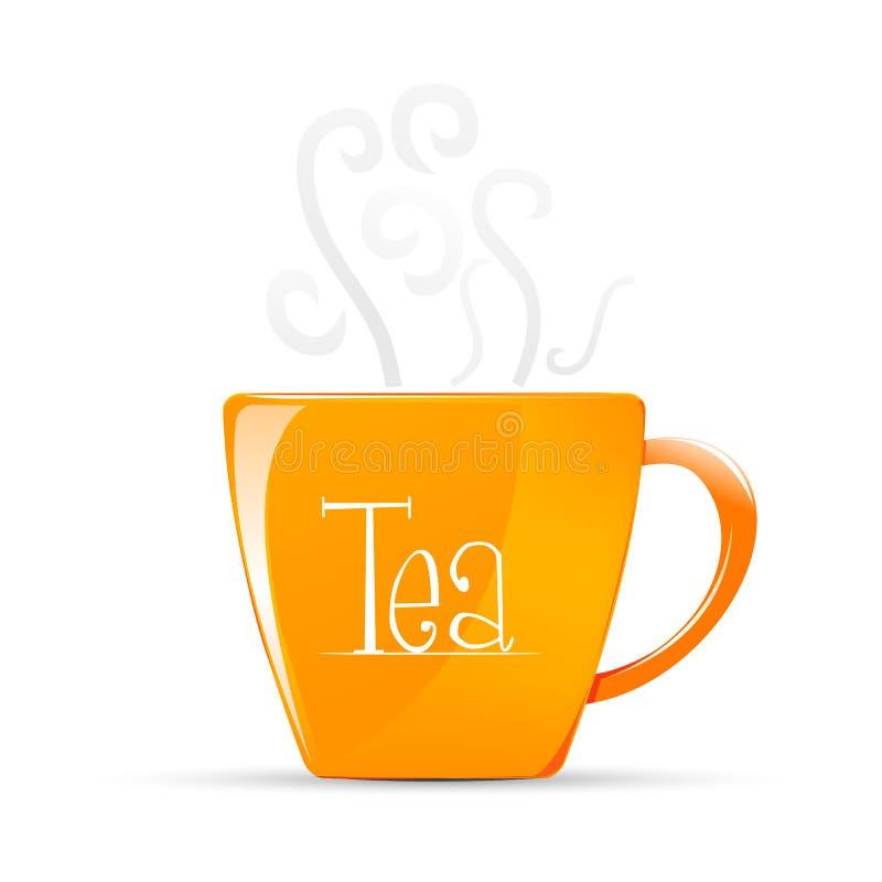 καυτό τσάι απεικόνιση αποθεμάτων