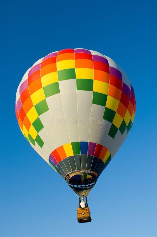 καυτό mutlicolor μπαλονιών αέρα στοκ εικόνα με δικαίωμα ελεύθερης χρήσης