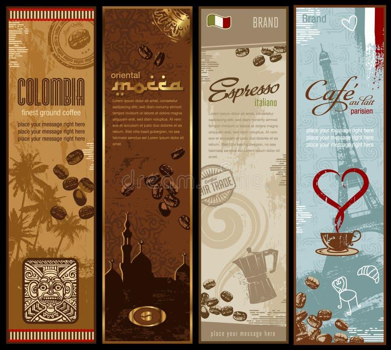 καφές εμβλημάτων απεικόνιση αποθεμάτων