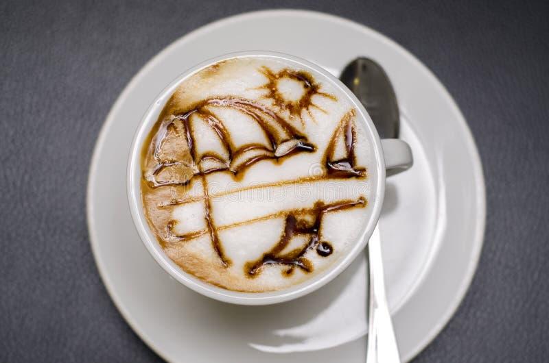 Καφές θαλασσίως στοκ φωτογραφίες