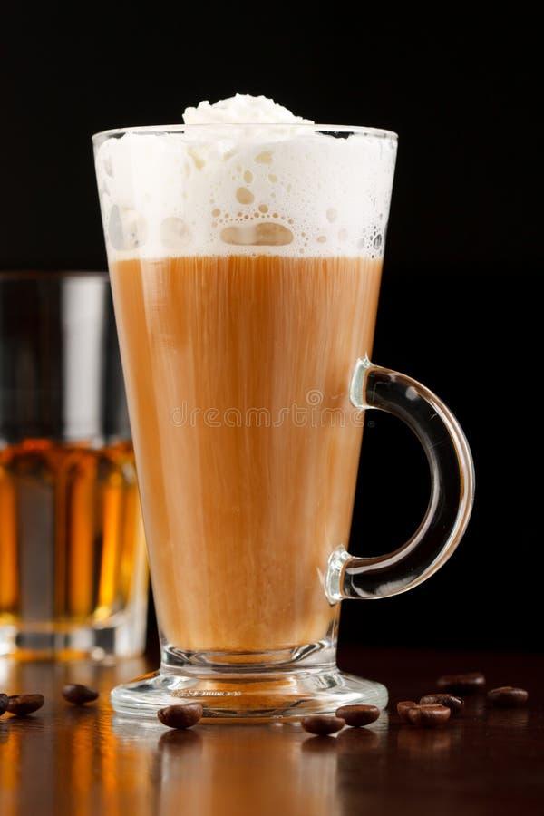 καφές ιρλανδικά στοκ εικόνα με δικαίωμα ελεύθερης χρήσης