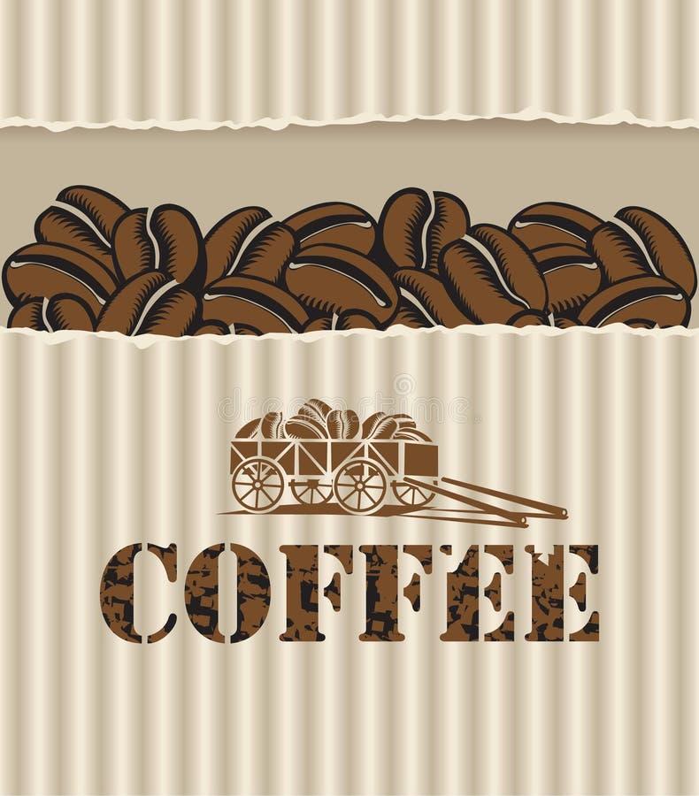 καφές κάρρων απεικόνιση αποθεμάτων