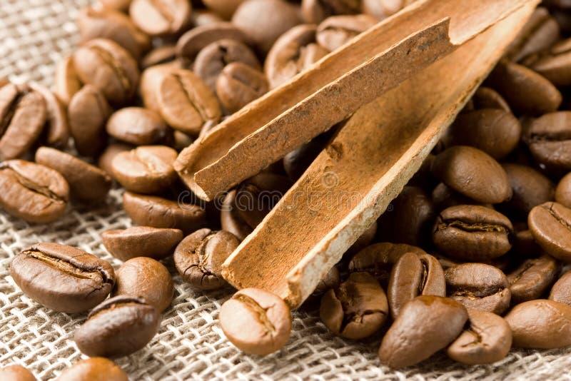 καφές κανέλας στοκ εικόνες