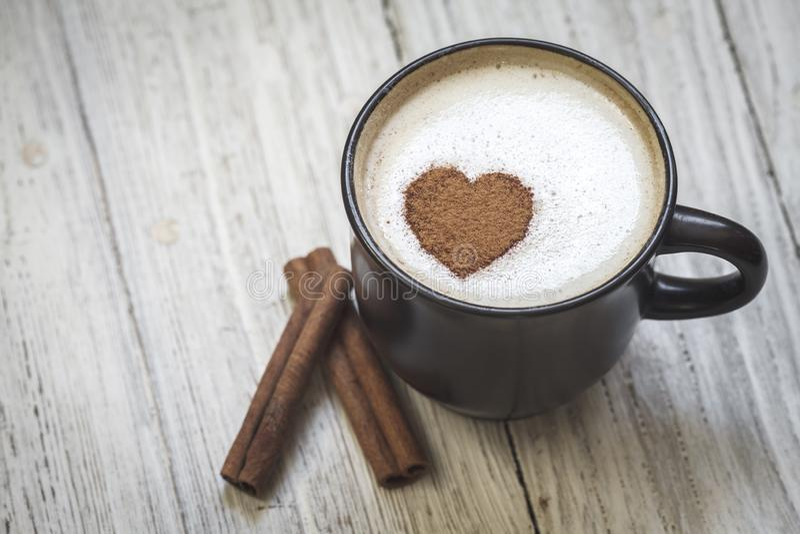 Καφές Με αγάπη στοκ εικόνα με δικαίωμα ελεύθερης χρήσης