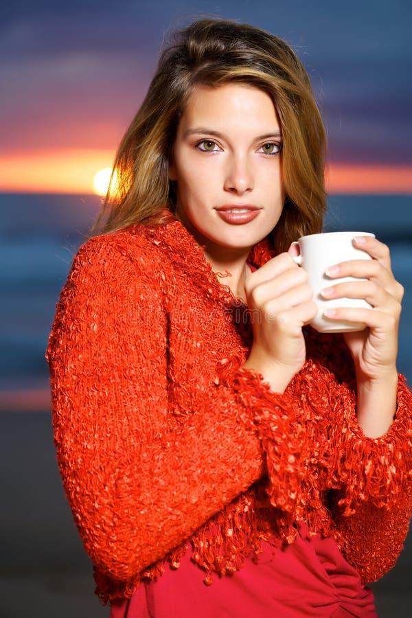 καφές παραλιών στοκ εικόνες